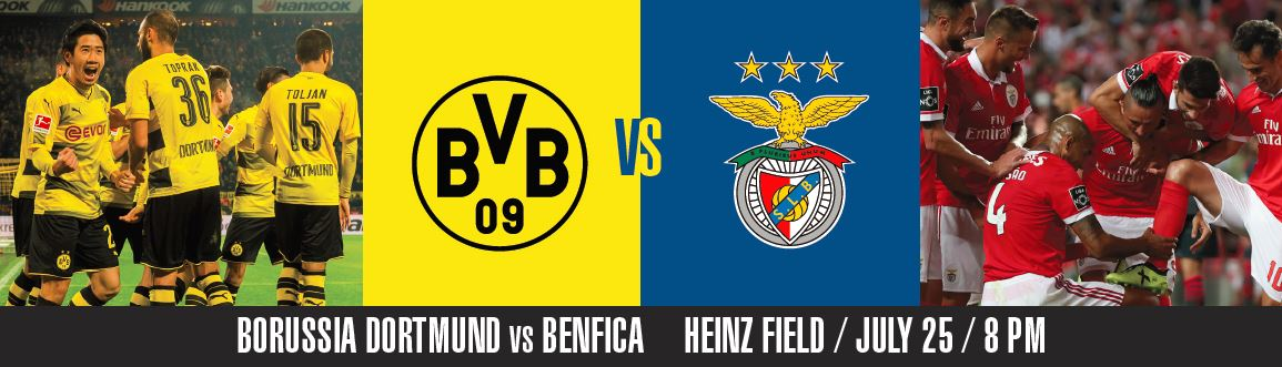 Borussia Dortmund v Benfica International_Champions_Cup
